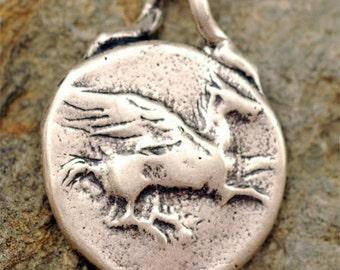 Artisan Sterling Silver PEGASUS Pendant