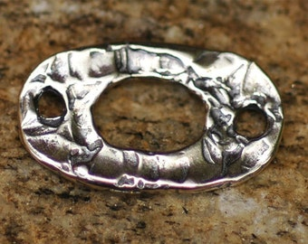 Artisan Oval link in Sterling Silver 141s