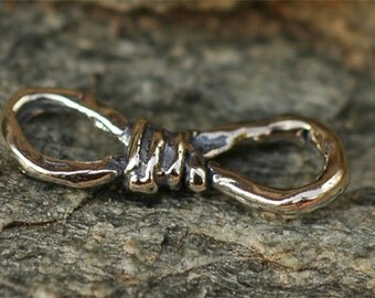Figure 8 Infinity Links in Sterling Silver AD-249