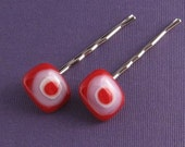Fused Glass Bobby Pins- Target