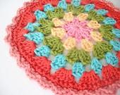 Granny crochet doily