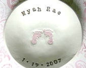 Personalized Baby Footprint Bowl