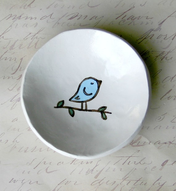 IN STOCK- Adopt A Birdie Bowl