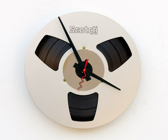 Recycled Aluminum magnetic tape reel
