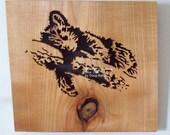 Bear Cub Scroll Saw Art