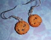 Chocolate Chip Cookie Earrings