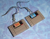 Earrings - SNES Game Cartridges - Pick any 2 for your set