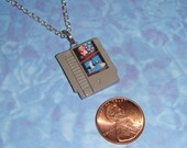 NECKLACE - Nintendo Game Cartridge - Pick any game NES or SNES
