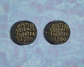 CUFFLINKS MST3K Planet Mystery Science Theatre 3000 - cuff links