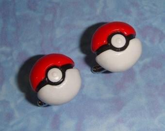 Pokemon Pokeball Cufflinks