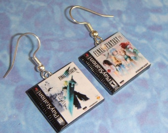 Playstation Game Box Set of Earrings - choose any 2 games for your set