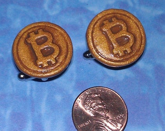 CUFFLINKS Bitcoin cuff links