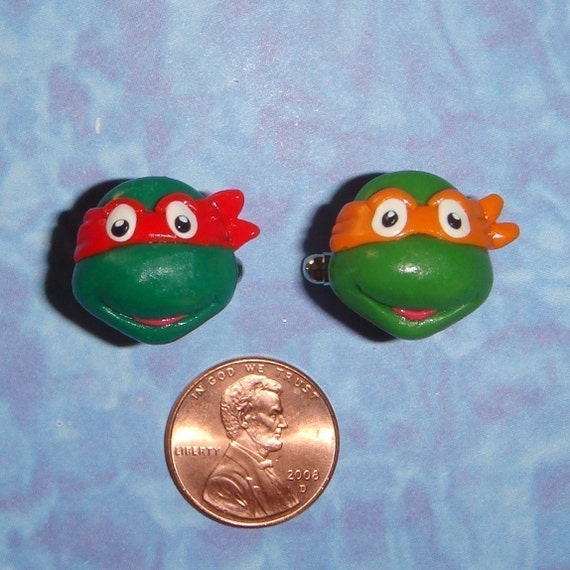 CUFFLINKS Teenage Mutant Ninja Turtles - choose any two for your set
