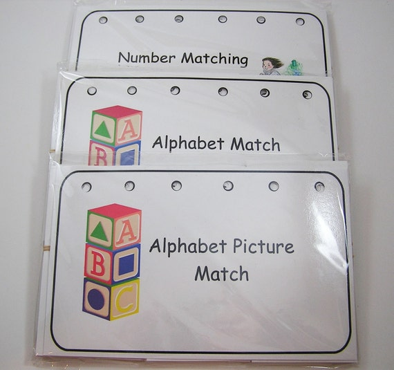 Educational Flipboard and Games - Alphabet and Number Set SALE