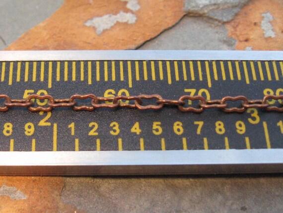 Shop Sale..1 ft. Petite Peanut Chain 3.5mm Trinity Vintage Patina -  Trinity Brass Co. LOW SHIPPING