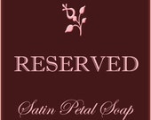 RESERVED for sewinggranny - Mona - RESERVED