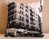 New York City Pillow - Urban Throw Style no6 - 16 x 16