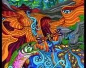 The River Dance - 11x14 Print