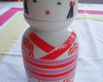 Asian Decanter Traditional Japanese Woman Gift for Mom