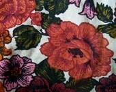 Vintage Spring Blossoms and Roses - Fat Quarter
