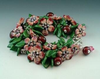 Daisy Bead Garden Bracelet TUTORIAL SRA Womens Jewelry