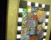 Handmade Tile 'Faith' Mosaic
