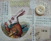 White Rabbit ACEO