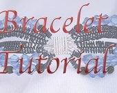 PDF Tutorial of Butterfly Bracelet Wire Wrapped E Pattern Intermediate