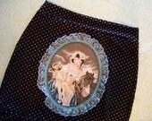 victorian cameo skirt