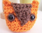 Amigurumi Owl Stuffie - Small