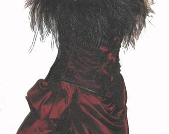 Victorian bustle burlesque skirt