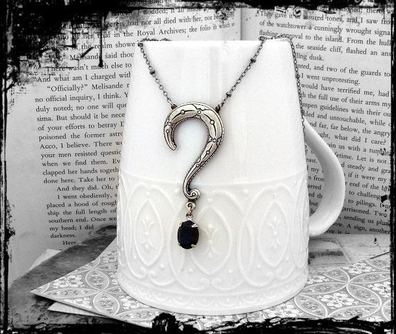 Enigma - Neo-Victorian Necklace in Silver