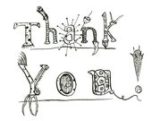 Protozoans Say Thank You - Set of Four Thank You Cards