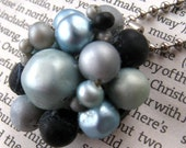 blue baubles