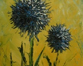 Floral 14 14x11inch print of oil painting by Roz
