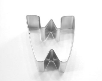 Capital Letter W Cookie Cutter