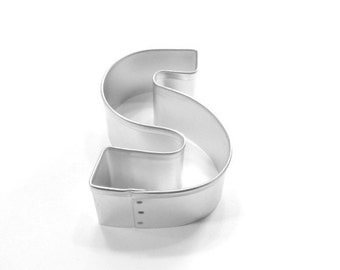 Capital Letter S Cookie Cutter