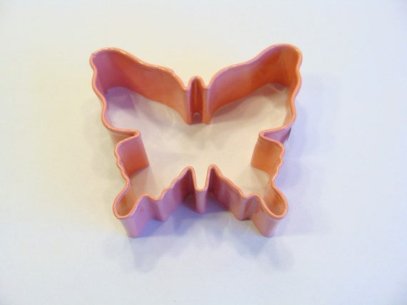 Butterfly  Pink Coated Cookie Cutter