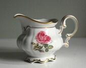 Vintage Creamer Hutschenreuther Dundee Rose China