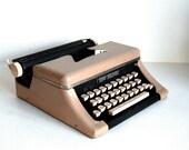 Vintage Toy Typewriter Tom Thumb Typewriter with Case