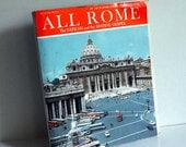 Vintage Book 1968 Guidebook, All Rome: The Vatican and Sistine Chapel by Pucci Roman Travel Guide