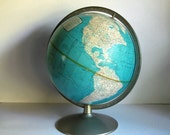 Vintage Globe Rand McNally 1950s World Globe 12 Inch