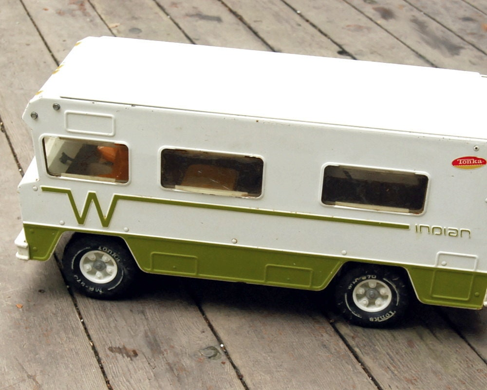 Vintage 1970s Tonka Toy Winnebago Indian by CalloohCallay ...