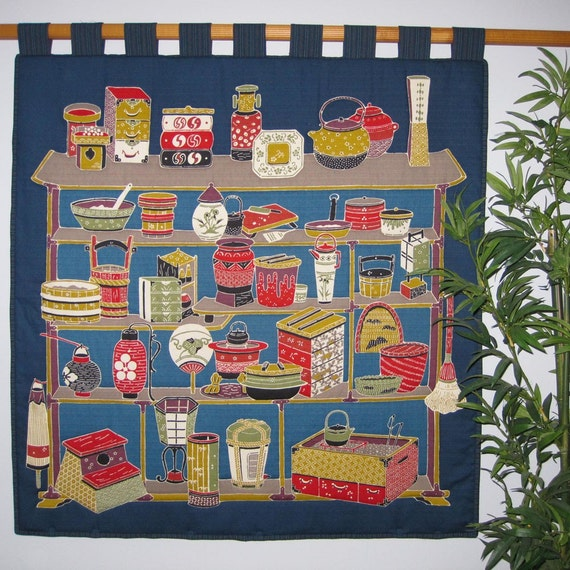 Wall Hanging Quilt The Japanese Home Design Large Size Furoshiki Clearance
