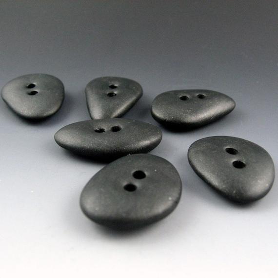 Faux Pebble Buttons