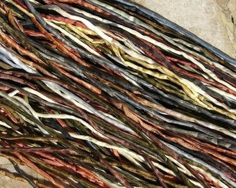 Neutral Assortment Cording Quantity 10 to 100 Hand Dyed Hand Sewn Bulk Strings