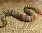 Rattle snake figurine