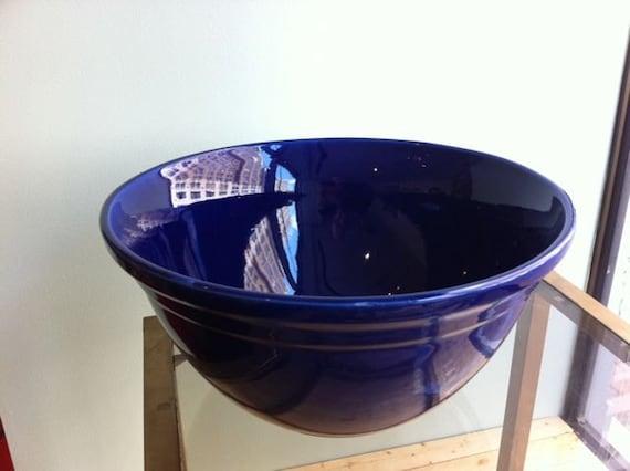 Cobalt Ovenproof McCoy Mixing Bowl Large 14