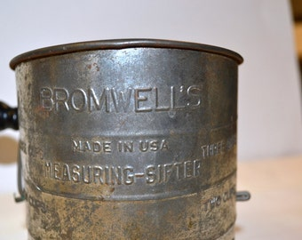 Vintage Bromwell's Flour Sifter Made in USA