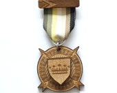 Wooden Medal - Miju x Norwegian Wood Collaboration